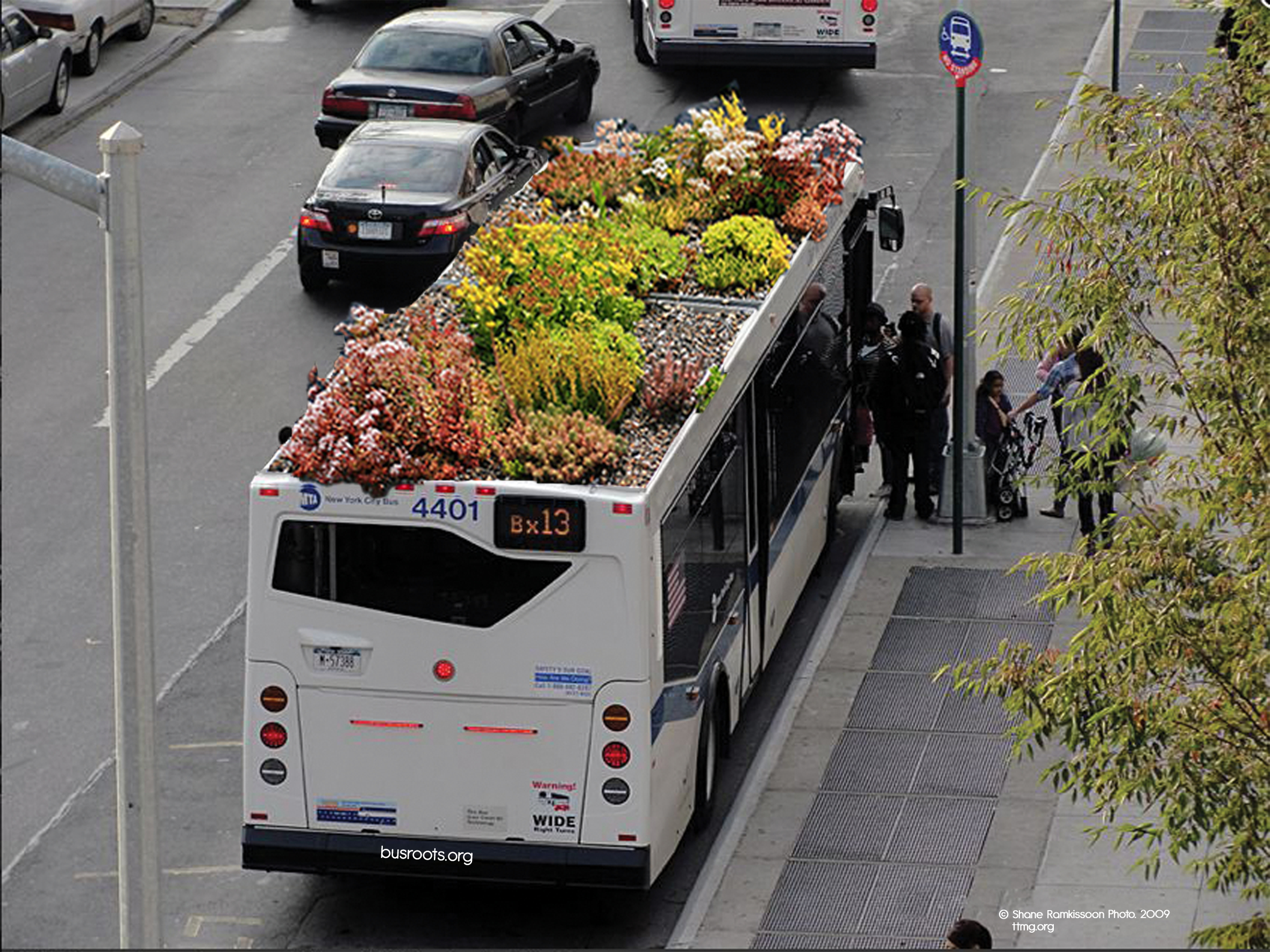 Mobile urban agriculture, via Bus Roots